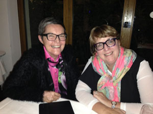 Regine Berger im Gespräch mit Deb Masters